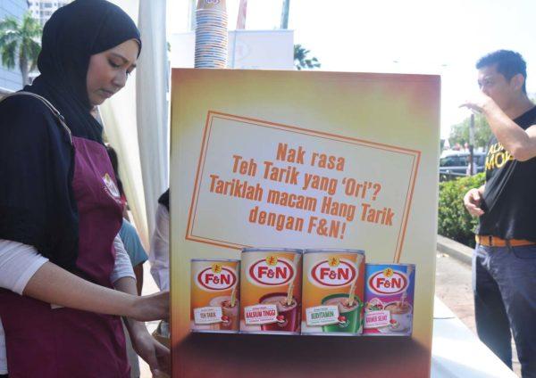 f&n gold standard teh tarik ori dairies
