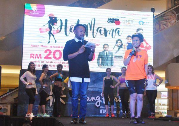 hot mama contest finale klang parade baki zainal