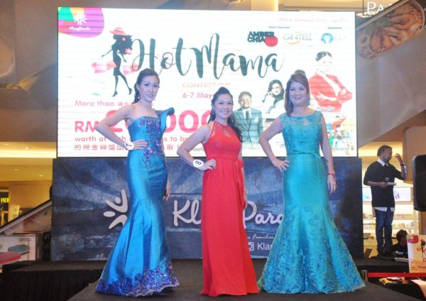 hot mama contest finale klang parade evening gown
