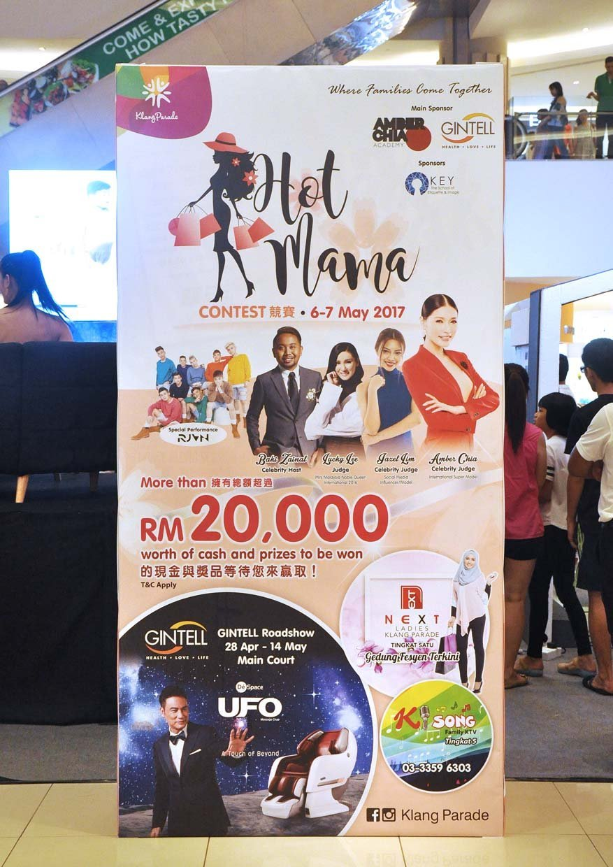 Showcasing Mothers' Confident & Beauty @ Hot Mama Contest, Klang Parade