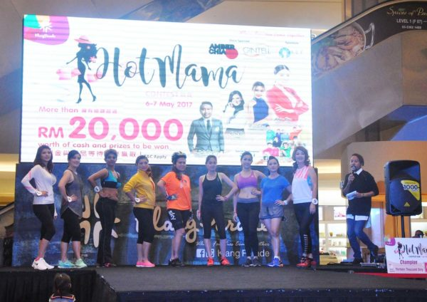 hot mama contest finale klang parade sport attire