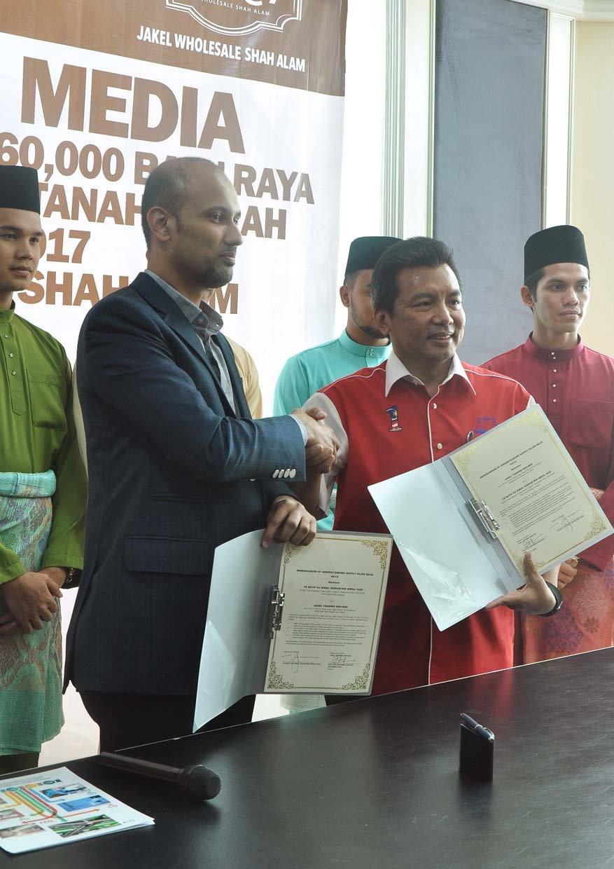 60,000 Pairs Jakel's Baju Raya For Voters Parlimen Tanah Merah
