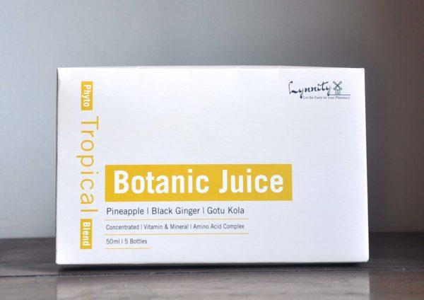 lynnity botanic juice phyto tropical blend box