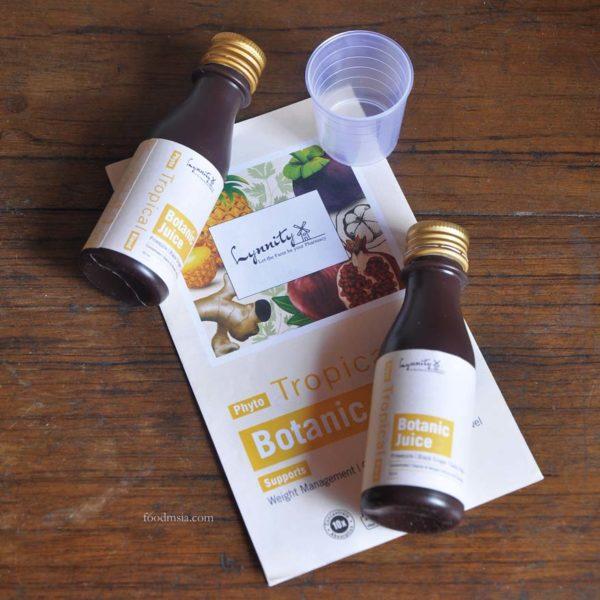 lynnity botanic juice phyto tropical blend leftlet