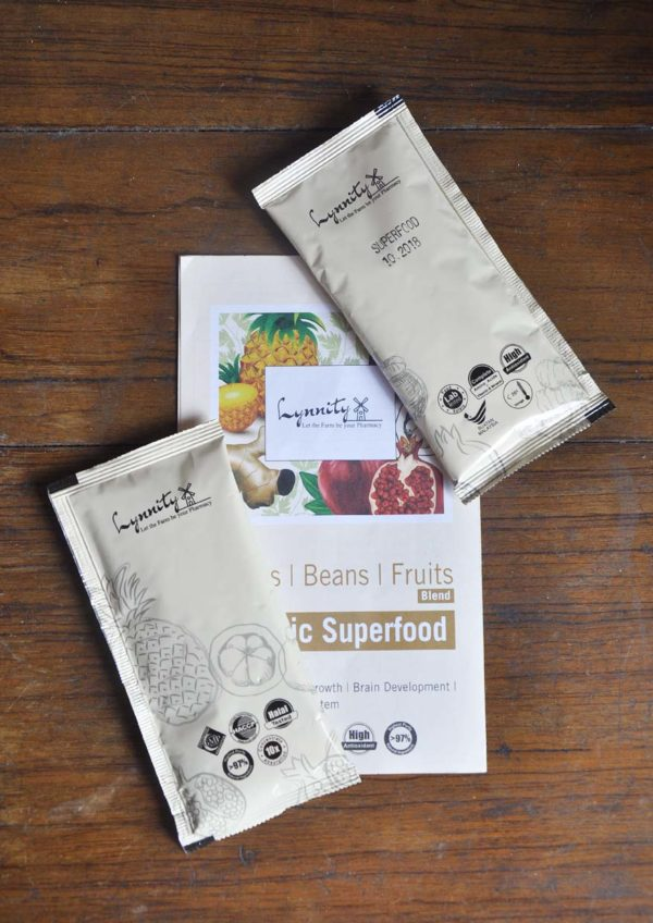 lynnity botanic superfood phyto grains beans fruits blend leaflet
