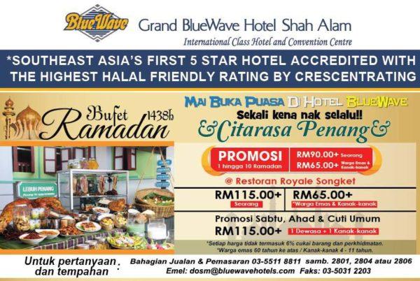 ramadan buffet 2017 grand bluewave hotel shah alam
