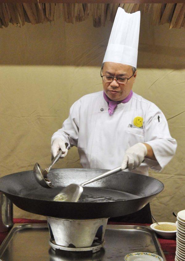 ramadan buffet dondang sayang coffee house corus hotel chef meng