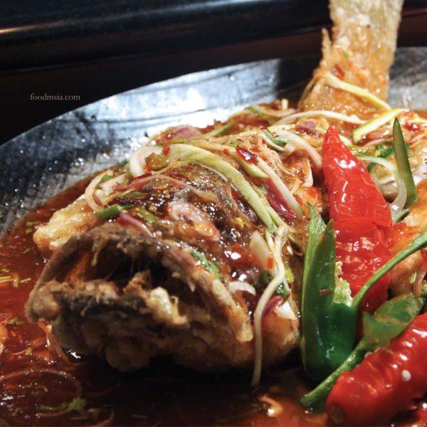 ramadan buffet dondang sayang coffee house corus hotel kl fish