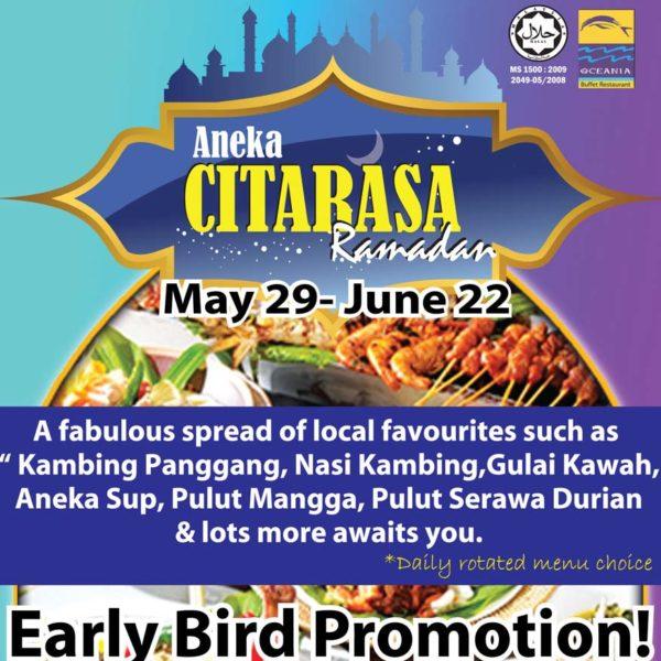 ramadan buffet oceania restaurant summit hotel subang usj early bird promo