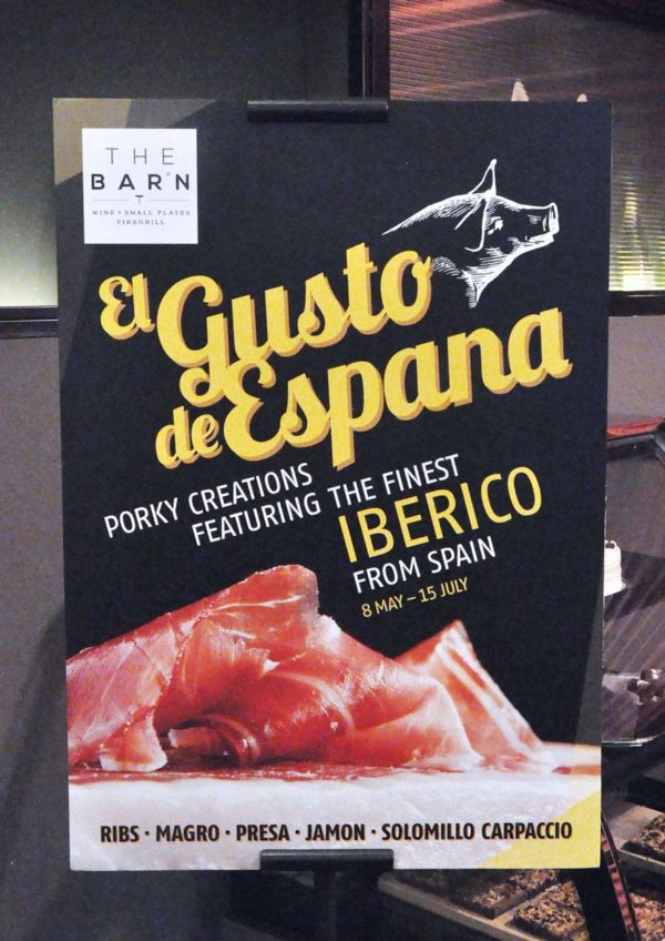 the barn el gusto de espana promotion