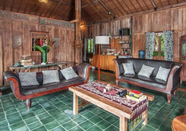ubud food festival antique javanese teak house airbnb