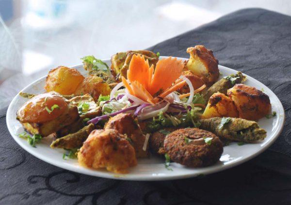 what tasty food indian vegetarian bangsar bites platter