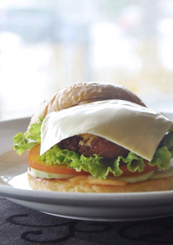 what tasty food indian vegetarian bangsar burger