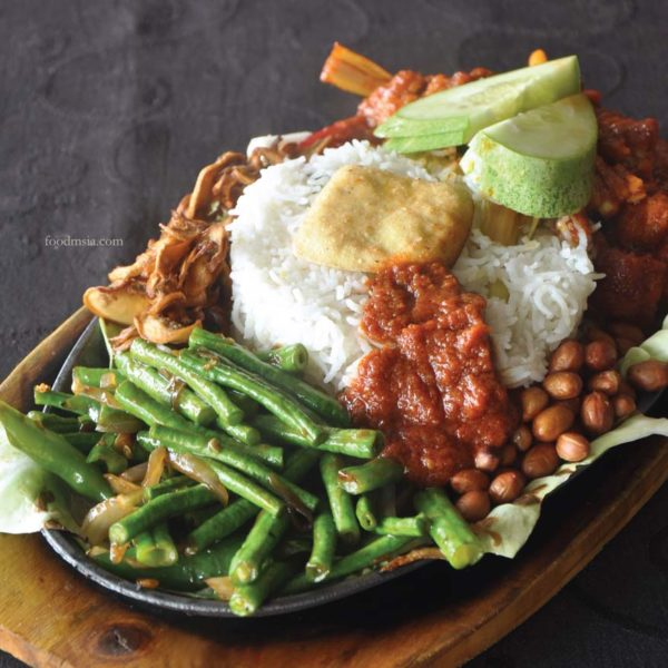 what tasty food indian vegetarian bangsar nasi lemak sizzler