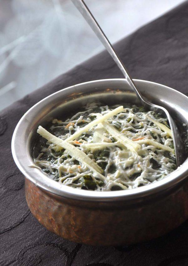 what tasty food indian vegetarian bangsar paalak paneer