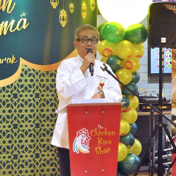 ayam rempah aroma the chicken rice shop dato chef ismail ahmad