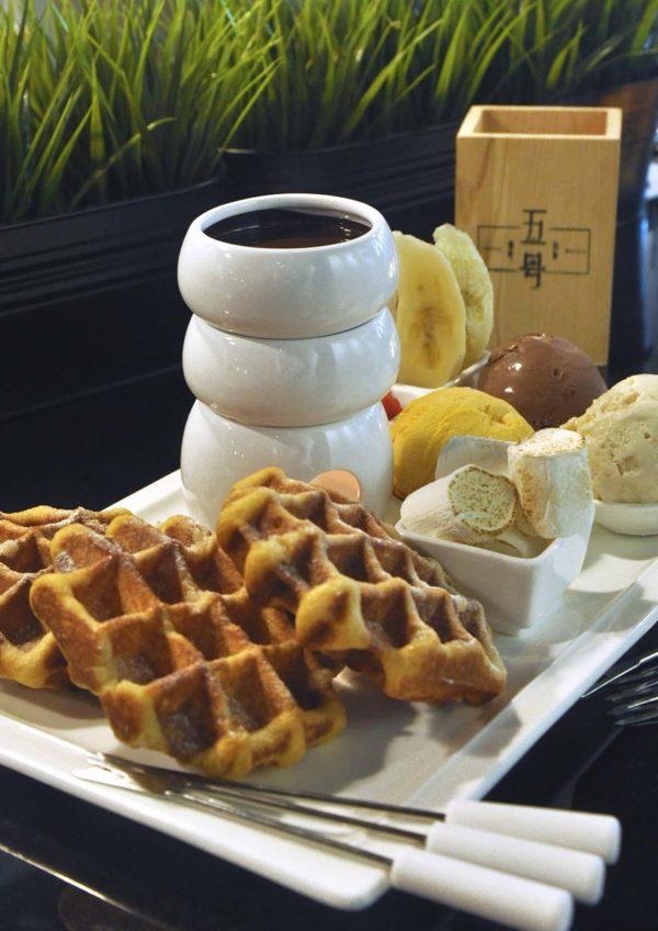 cafe 5 pudu kuala lumpur willy wonka belgian liege waffle