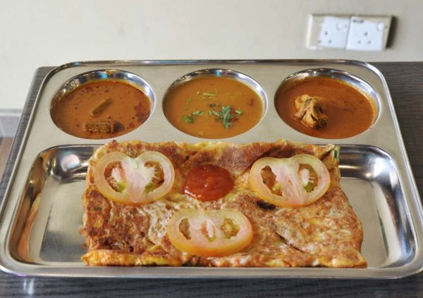 chola kitchen indian cuisine bandar botanic klang cheesy chicken murtabak