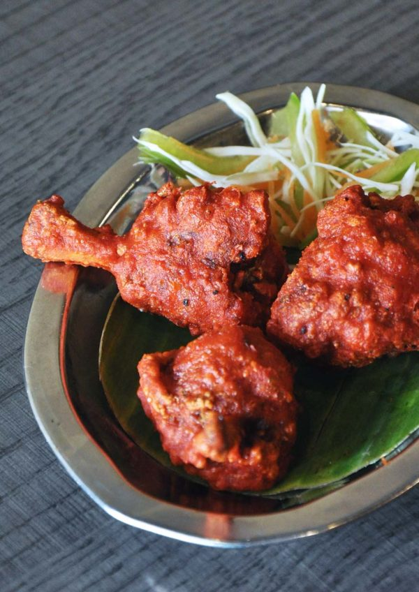 chola kitchen indian cuisine bandar botanic klang chicken lollypop
