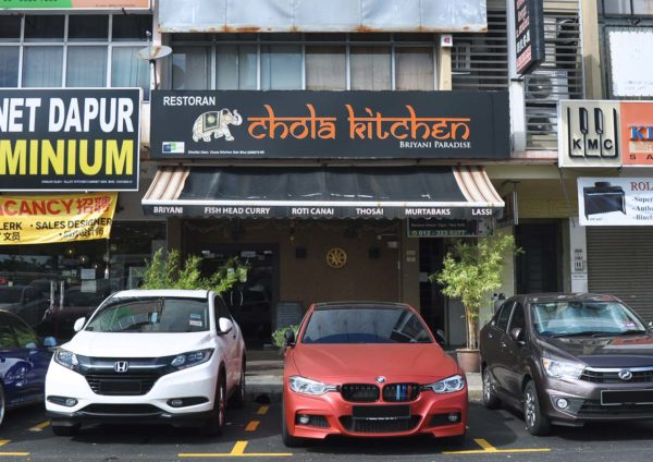 chola kitchen indian cuisine bandar botanic klang outlet