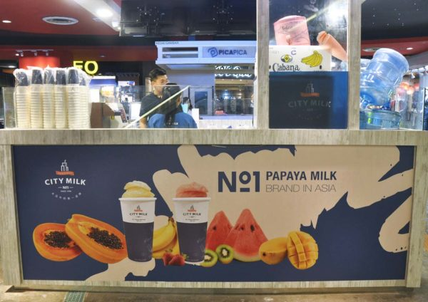 city milk taiwan no1 papaya milk sunway pyramid