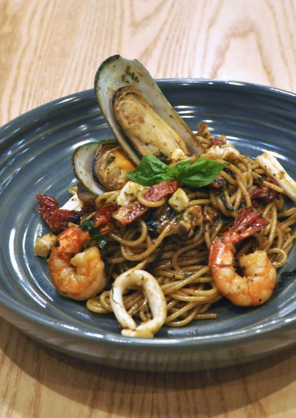 delicious 1 utama seashells by the seashore aglio olio