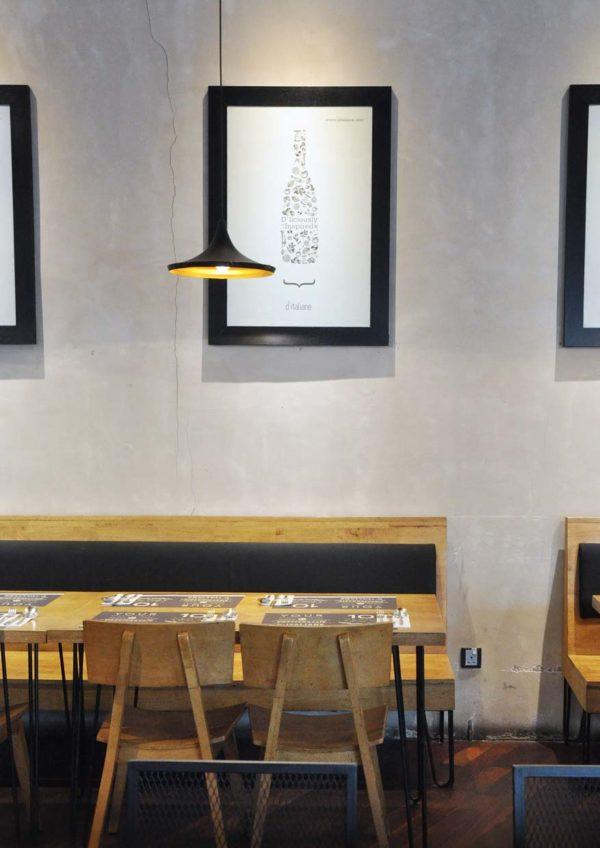d'italiane italy cuisine paradigm mall kelana jaya interior