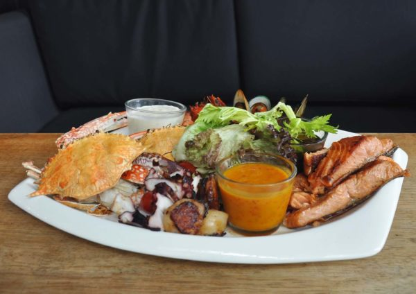 d'italiane italy cuisine paradigm mall kelana jaya seafood platter