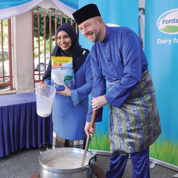 fonterra distributes iftar packs world milk day bubur lambuk