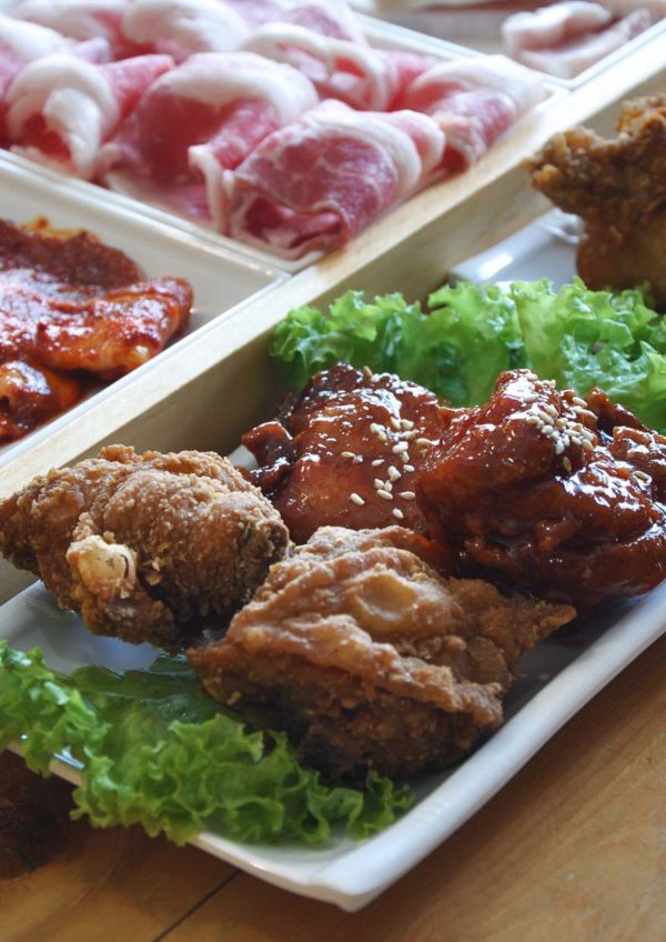 hwa ga korean restaurant bbq buffet fried chicken