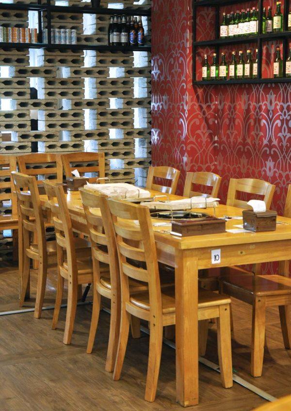 hwa ga korean restaurant bbq buffet sunway giza kota damansara interior