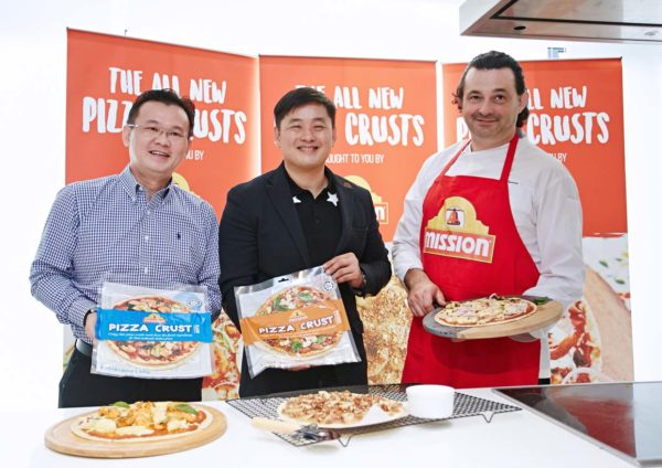 mission foods pizza crusts launching event