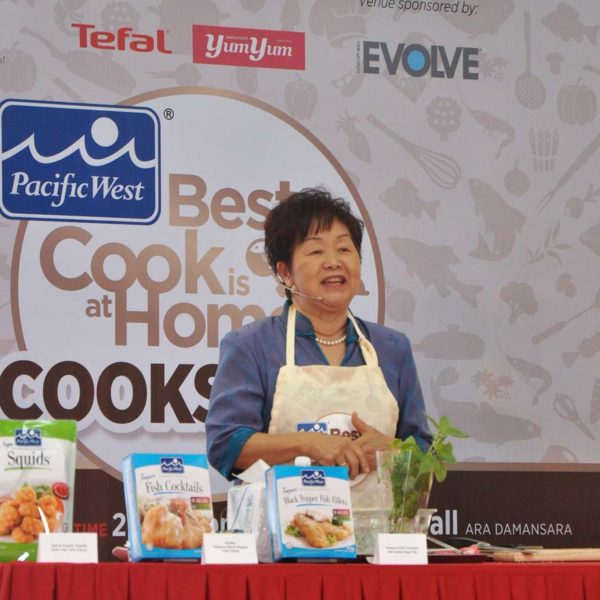 pacific west best cook is at home cookshow chef agnes chang