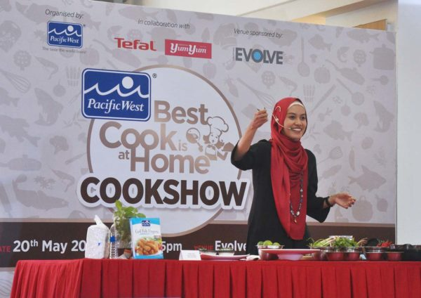 pacific west best cook is at home cookshow malaysia master chef champion dr ezani