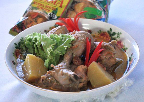 rempah ratus mak siti chicken kurma recipe