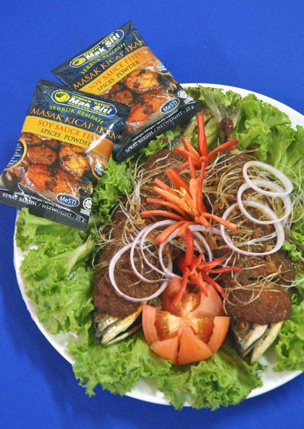 rempah ratus mak siti soy sauce fish spices powder