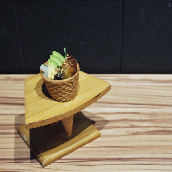 sho kushiage tonkatsu japanese cuisine sunway pyramid avocado unagi cones