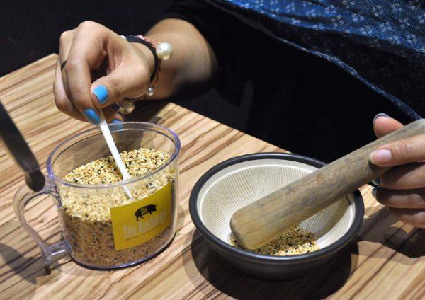 sho kushiage tonkatsu japanese cuisine sunway pyramid grind sesame
