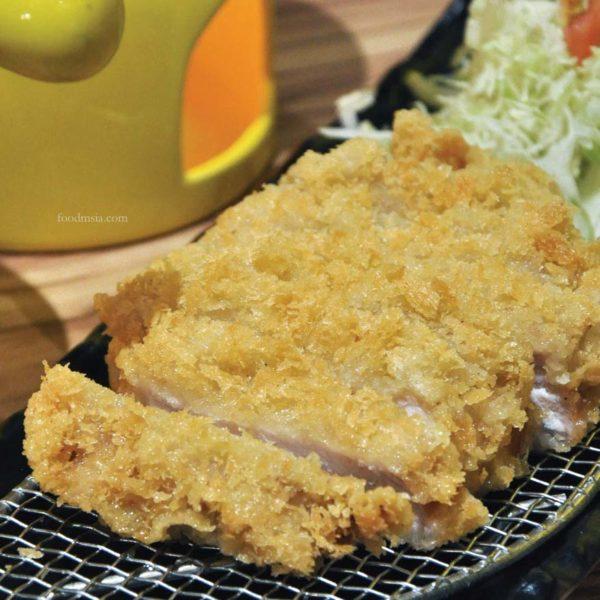 sho kushiage tonkatsu japanese cuisine sunway pyramid pork chop
