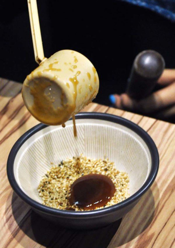 sho kushiage tonkatsu japanese cuisine sunway pyramid pork chop sauce