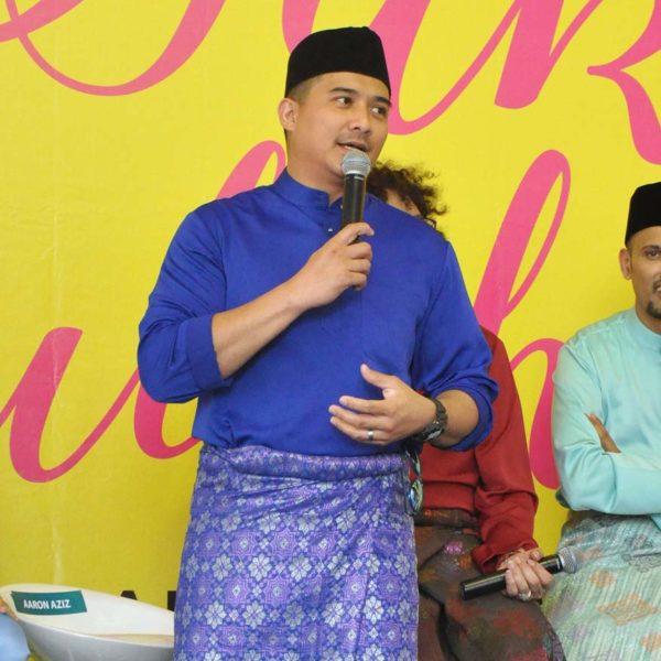 wisma jakel shah alam baju raya collection aaron aziz
