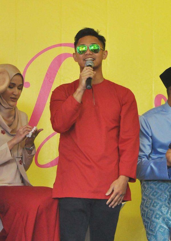 wisma jakel shah alam baju raya collection hairul azreen