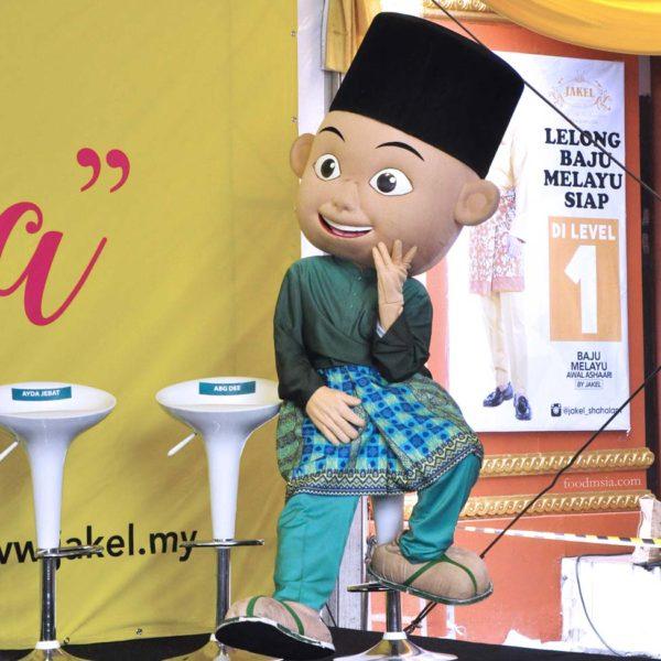 wisma jakel shah alam baju raya collection upin ipin
