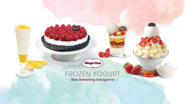 haagen dazs malaysia frozen yogurt ice cream creations