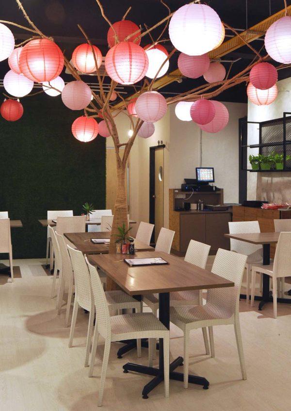 kokoro confe japanese cuisine desa sri hartamas interior