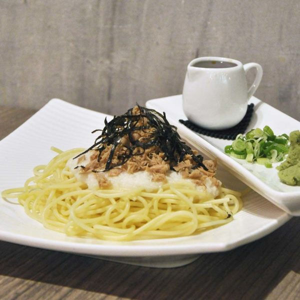 kokoro confe japanese cuisine desa sri hartamas nagaimo tuna spaghetti
