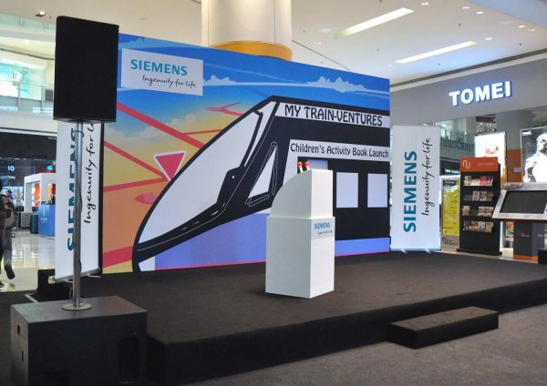 my train ventures siemens malaysia stage