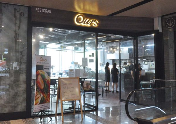 ours eatery wholesome meal dc mall damansara city exterior
