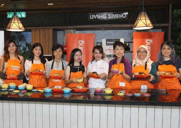 panasonic cubie oven cooking workshop home2com solution center bloggers