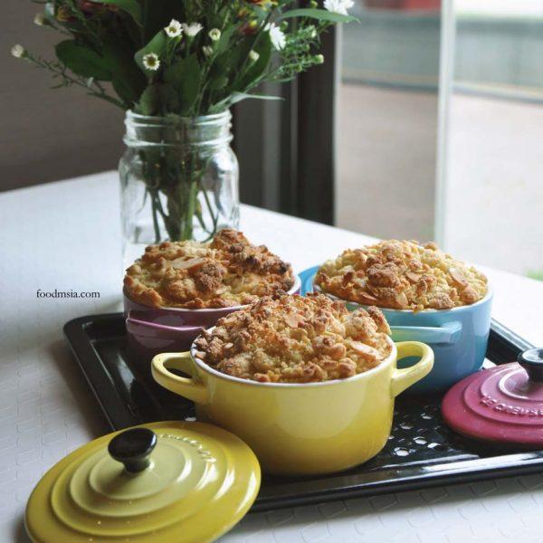 panasonic cubie oven cooking workshop home2com solution center mango passion fruit crumble